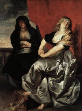 Rubens / Magdalene and Martha / Painting