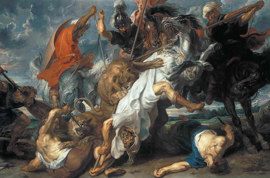 Colección de cuadros sobre el tema de la Caza.