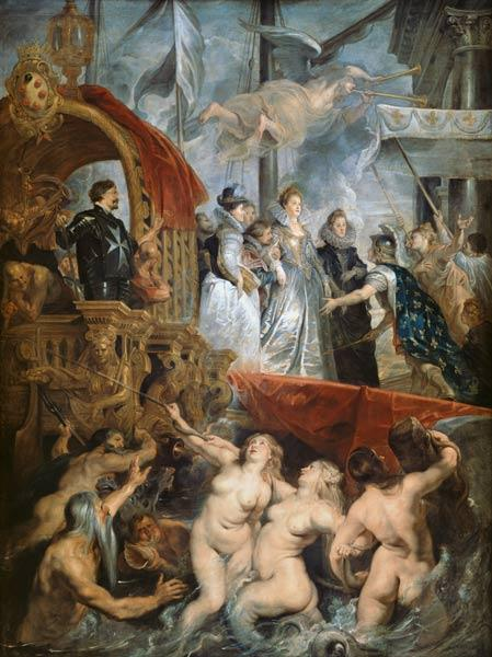 The Arrival of Marie de Medici (1573-1642) in Marseilles, 3rd November 1600