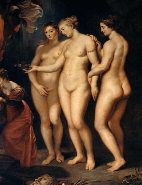 The Medici Cycle: Education of Marie de Medici, detail of the Three Graces