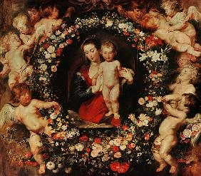 Virgin with a Garland of Flowers, c.1618-20