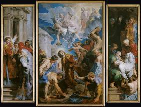 Rubens, Peter Paul : The Martyrdom of St. Steph...