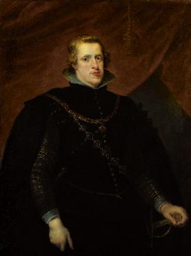 Portrait of King Philip IV of Spain, of the Spanish Netherlands and King of Portugal