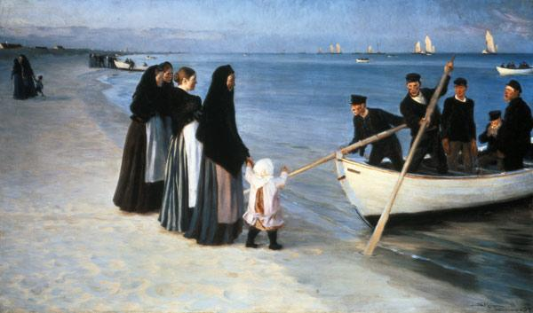 Exit of the fishermen (Skagen)