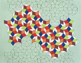 Penrose''s Conundrum, 1988 (tempera on paper)