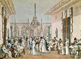 The Cafe Frascati in 1807 (see also 177420)