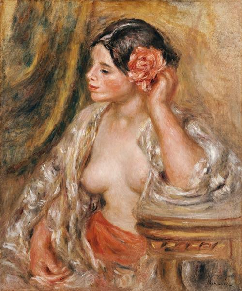 Pierre-Auguste Renoir - Gabrielle a sa Coiffure