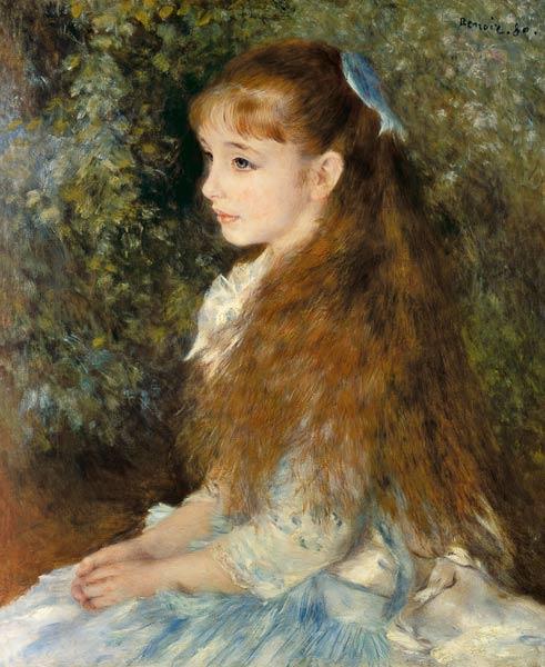 Pierre-Auguste Renoir - Irene Cahen Anvers.