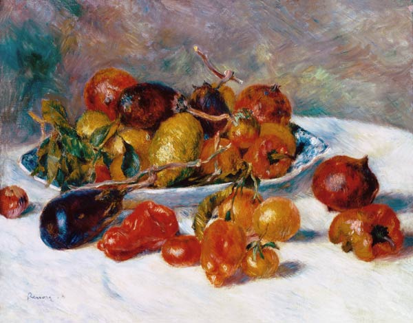 Pierre-Auguste Renoir - Fruits of the Mediterranean