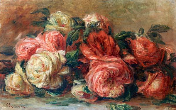 Pierre-Auguste Renoir - Discarded Roses