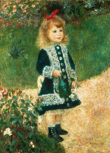 Pierre-Auguste Renoir - Niña con regadera