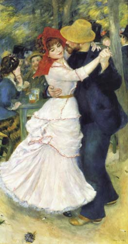 Pierre-Auguste Renoir - Dance in Bougival