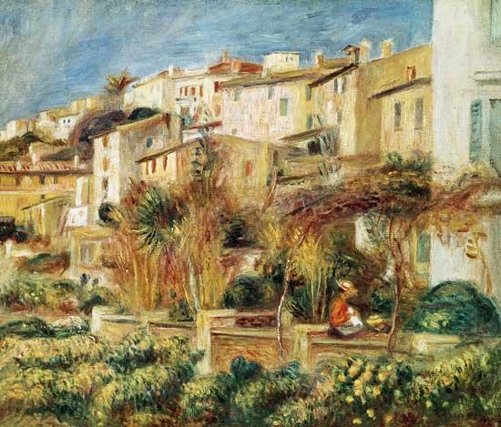 Pierre-Auguste Renoir - Terrace en Cagnes.