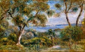 Renoir, Pierre-Auguste : The Sea at Cagnes