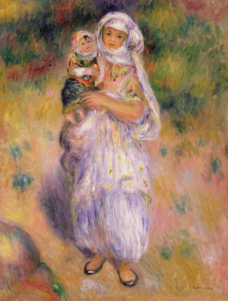 Algerian Woman and Child
