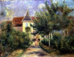 Renoir's house at Essoyes, 1906