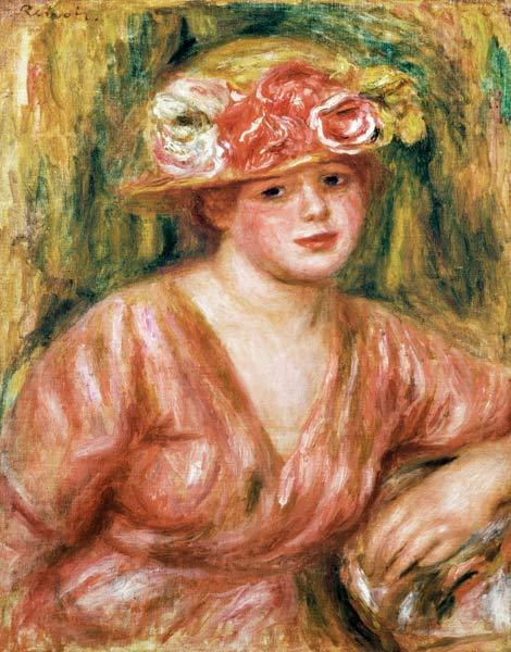 The Rose Hat or Portrait of Lady Hessling