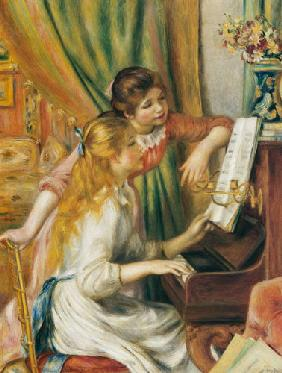 Renoir, Pierre-Auguste : Two girls at the piano