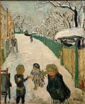 Children Playing in the Snow / The Street