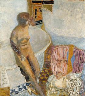Nude by the Bath Tub