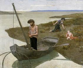 Puvis de Chavannes / The poor fisherman
