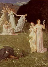 Puvis de Chavannes, Pierre-C�cile : The young girls and the de...