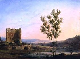 View of the Outskirts of Rome