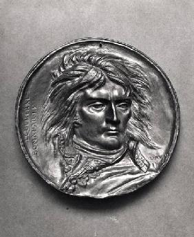 Portrait medallion of General Bonaparte (1769-1821) c.1830