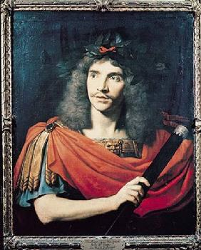 Moliere in the Role of Caesar in the Death of Pompey