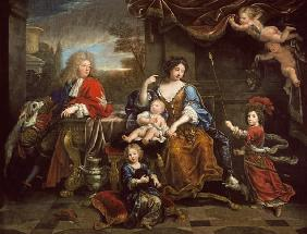 The Grand Dauphin with his Wife and Children