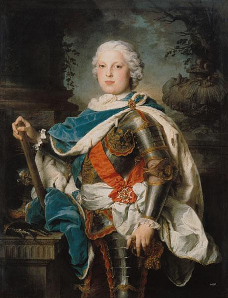 Health cure prince Friedrich Christian of Saxony