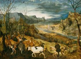 The homecoming of the herd (end: The seasons) 1565