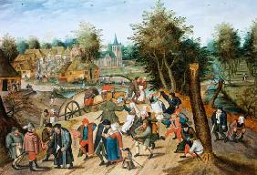 The Return from the Kermesse (panel)