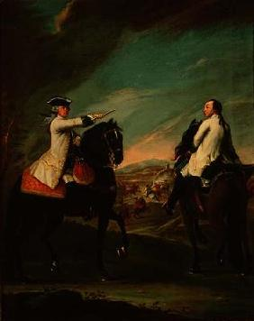 Guglielmo de Montfort and his Field Attendant