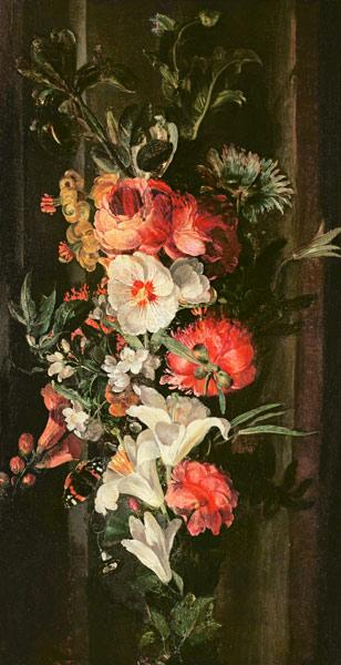 Still Life with Roses, Lilies and Other Flowers