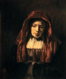 Portrait of an old woman (the mother of the artist