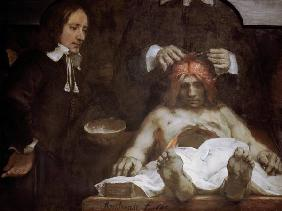 Rembrandt van Rijn : The Anatomy Lesson of Dr. ...