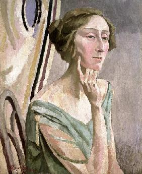 Portrait of Edith Sitwell (1887-1964)