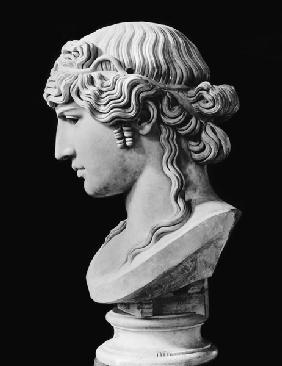 Bust of Antinous (c.110-30) called 'Antinous Mondragone'
