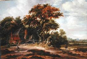 Wooded Landscape near Haarlem