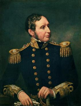 Vice Admiral Robert Fitzroy (1805-65) Admiral Fitzroy led the expedition to South America 1834-36 wi