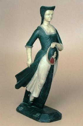 Model of a figurehead