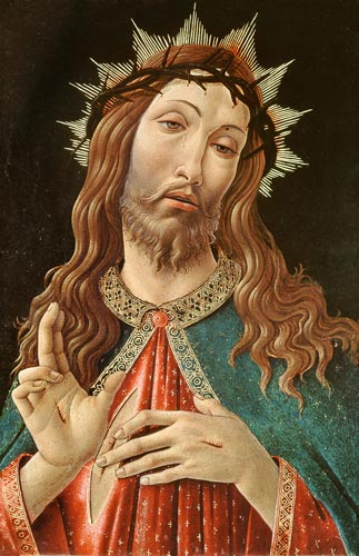 Ecce Homo, or The Redeemer - Sandro Botticelli