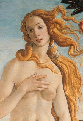 Venus, detail from The Birth of Venus
