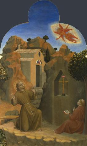 The Stigmatisation of Saint Francis (From Borgo del Santo Sepolcro Altarpiece)