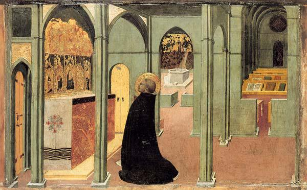 Saint Thomas Aquinas in Prayer