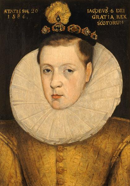 Portrait of James VI of Scotland