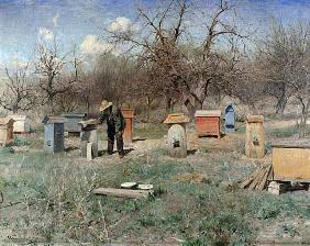 A Spring Day, or Beehives