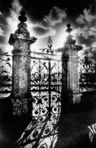 Gates, Chateau de Carrouges, Normandy, France
