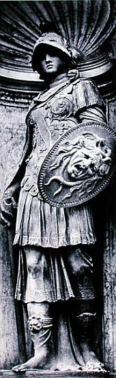 Sculpture of Minerva by Jacopo Sansovino (1486-1570) from the Loggetta of the Campanile, Piazza San